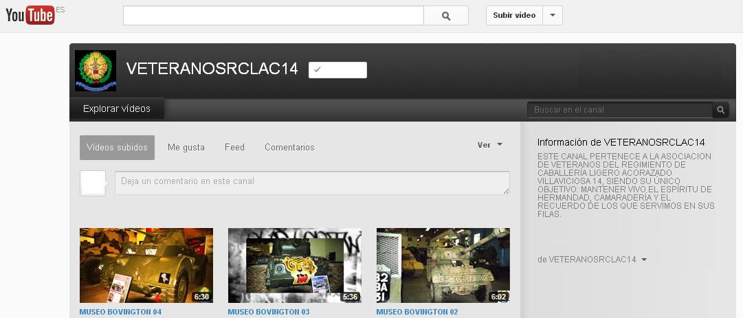 Banner Canal Youtube