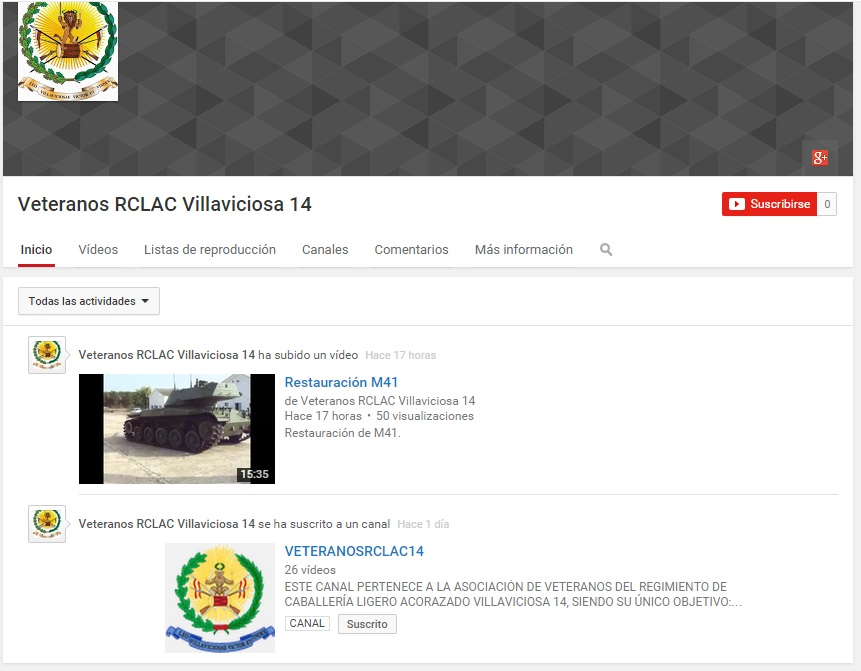 Canal 2 Youtube