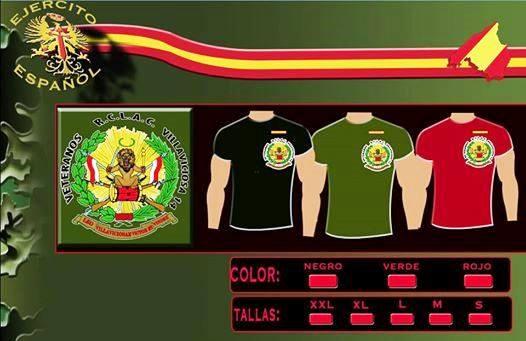 Camisetas Veteranos